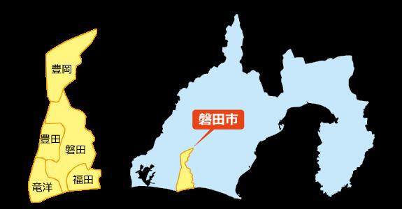 磐田市マップ